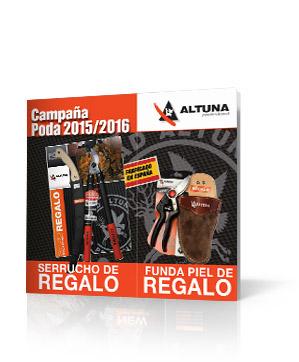 Altuna, campaña poda 2015- 2016