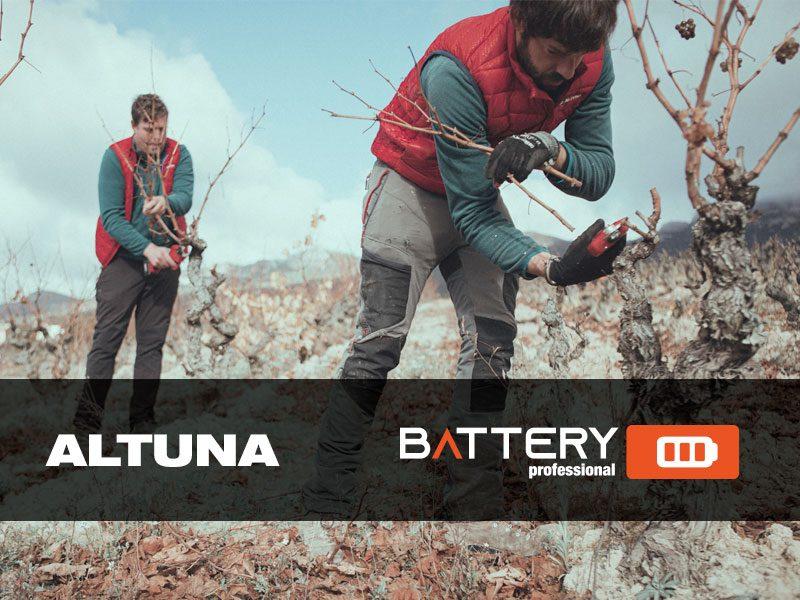 New ALTUNA BATTERY Range